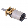 15:1 Micro Metal Gearmotor HPCB 6V with Extended Motor Shaft