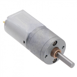 63:1 Metal Gearmotor 20Dx43L mm 6V CB