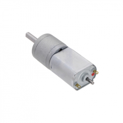 156:1 Metal Gearmotor 20Dx44L mm 6V CB with Extended Motor Shaft