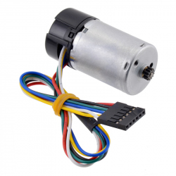 HP 6V Motor with 48 CPR Encoder for 25D mm Metal Gearmotors (No Gearbox)