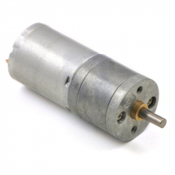 34:1 Metal Gearmotor 25Dx52L mm HP 6V