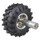 47:1 Metal Gearmotor 25Dx52L mm HP 6V