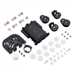 Balboa Chassis with Stability Conversion Kit (No Motors, Wheels, or Electronics)