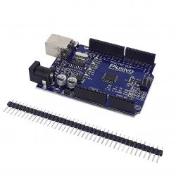 Placă de Dezvoltare Compatibilă cu Arduino Uno (ATmega328p și CH340) MicroUSB