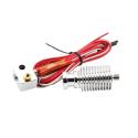 Remote E3D v6 3D Printer Head (0.5 mm nozzle, 1.75 mm filament)