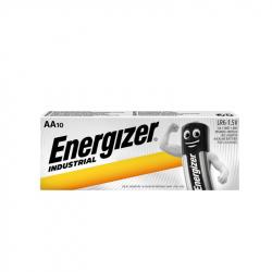 Pack of 10 LR6 Energizer Industrial EN91 battery