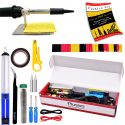 Plusivo Basic Soldering Kit for Electronics (plug type: EU)