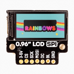 "0.96"" SPI Colour LCD (160x80) Breakout"