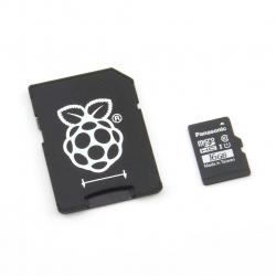 Panasonic Card MicroSD A1 Original de 16 GB cu NOOBs pentru Raspberry Pi 3 Varianta Bulk