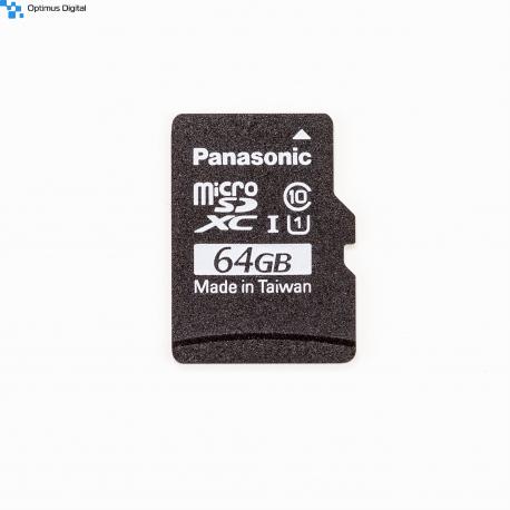 Panasonic MicroSD A1 Original 64 GB NOOBs Card for Raspberry Pi 4