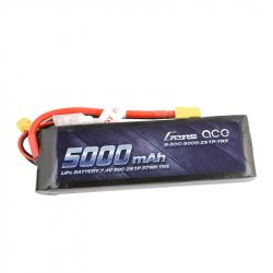 Gens ace 5000mAh 7.4V 50C 2S1P Lipo with XT60 Plug