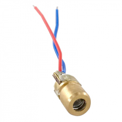 6 mm Red 3V Laser Diode Module