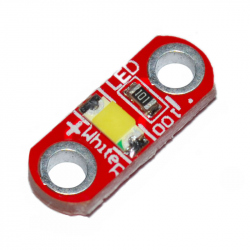 Set of 5 White LED Modules for LilyPad