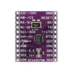 SC16IS750 UART Module with I2C and SPI Interface