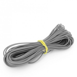 1mm Gray Wire (Price Per 1 Meter)