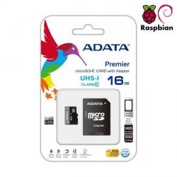 Card de Memorie MicroSDHC 16GB cu Adaptor SD