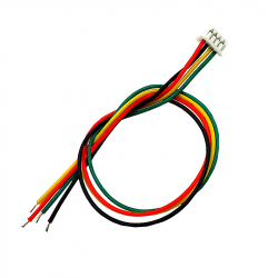 4p 1.25 mm Single Head Cable (10 cm)