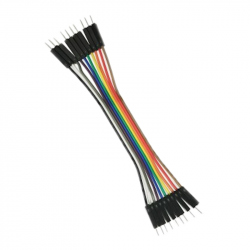 Wires Male-Male 10p 10 cm