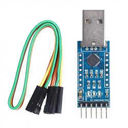 Modul convertor USB la Serial CP2102, Albastru