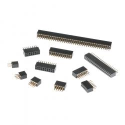 2 x 4p 1.27 mm Female Pin Header