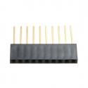 10p Long Female Pin Header