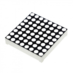 3 mm 8x8 Red Dot Matrix