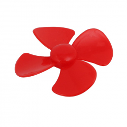 60 mm Red Propeller
