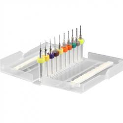 Set Mini Burghie pentru PCB 0.1 - 1 mm (10 buc)