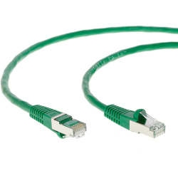 20 meters CAT6A SSTP Patch Cable Green