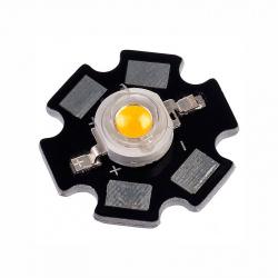 LED de Putere Albastru de 1 W cu Radiator