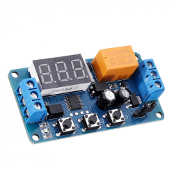 3.3V / 5 V Relay Module with Adjustable Delay (220 V)