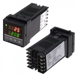 REX-C100FK02-M*AN Temperature Controller (K Type Input, Relay Output)