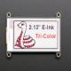 """Display Adafruit FeatherWing 2.13"""" Tri-Color eInk / ePaper"""