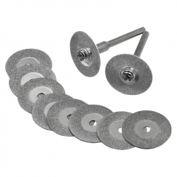 35 mm Diamond Discs for Cutting and Grinding (10 pcs)