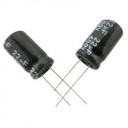 Electrolytic Capacitor 22 uF, 400 V