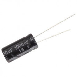 Electrolytic Capacitor 1000 uF, 16 V