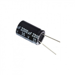 Electrolitic Capacitor 2200 uF, 35 V