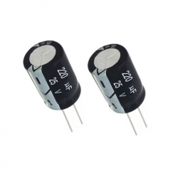 Electrolytic Capacitor 220 uF, 25 V