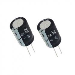 Electrolitic Capacitor 220 uF, 25 V