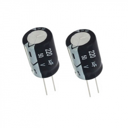 Electrolytic Capacitor  220 uF, 50 V