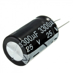 Electrolitic Capacitor 3300 uF, 25 V