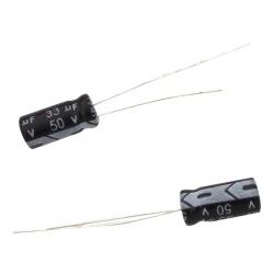 Electrolitic Capacitor 33 uF, 50 V