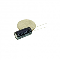 Electrolytic Capacitor 4.7 uF, 450 V