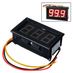0-100 V Panel Voltmeter with 3 Wires