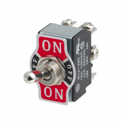 On / Off / On Simple Metal Switch
