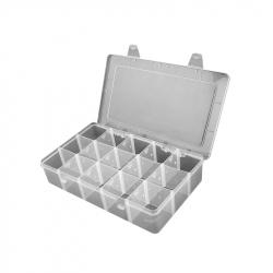 Plastic Box with 15 Compartments (17.4 x 9.8 x 2.2 cm)