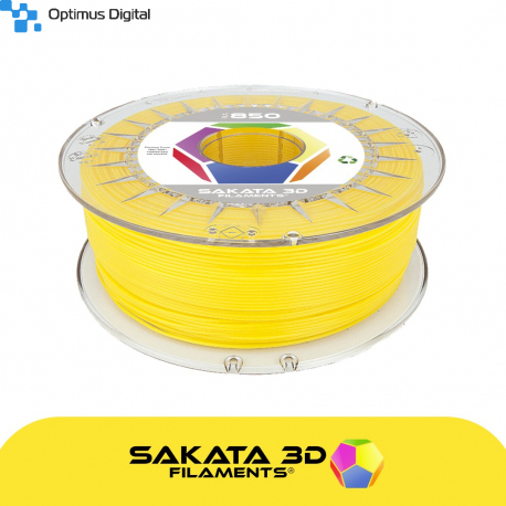Sakata 3D Ingeo 3D850 PLA Filament - Yellow 1.75 mm 500 kg