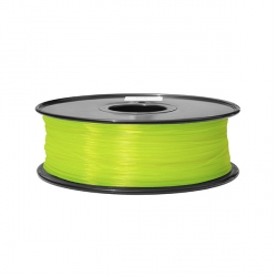1.75 mm 1.3 kg  ABS Filament for 3D Printer - Fluorescent Yellow