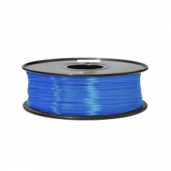 1.75 mm, 1.3 kg ABS Filament For 3D Printer - Fluorescent Blue