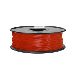 1.75 mm, 1.3 kg ABS Filament For 3D Printer - Fluorescent Red